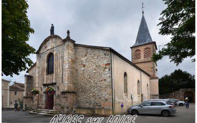 Vitraux de l'église d'Aurec-sur-Loire